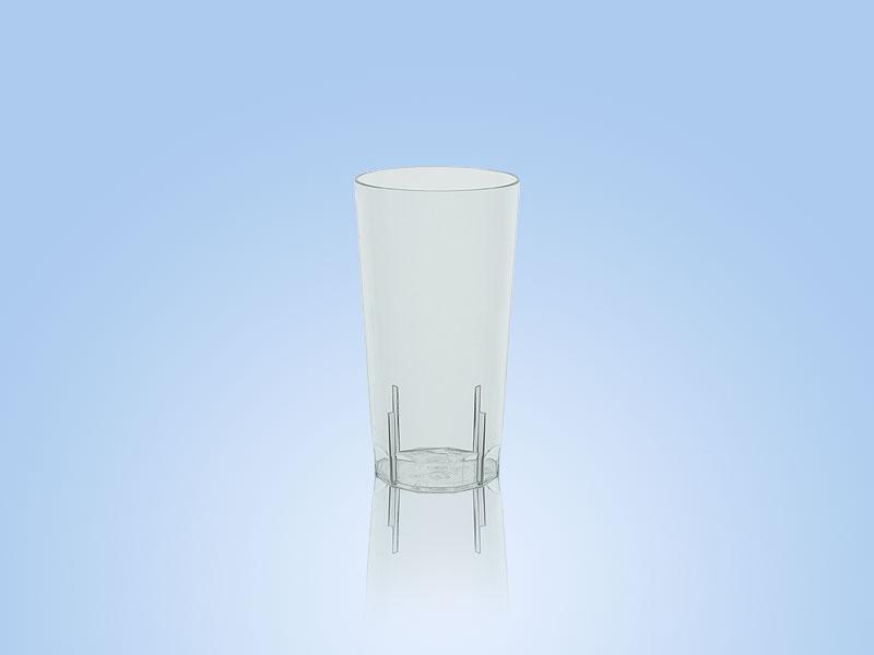 reusable high ball glass
