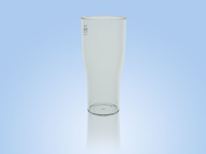 reusable plastic cup elite tulip pint