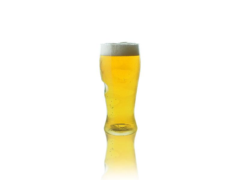 reusable govino bottled beer glass