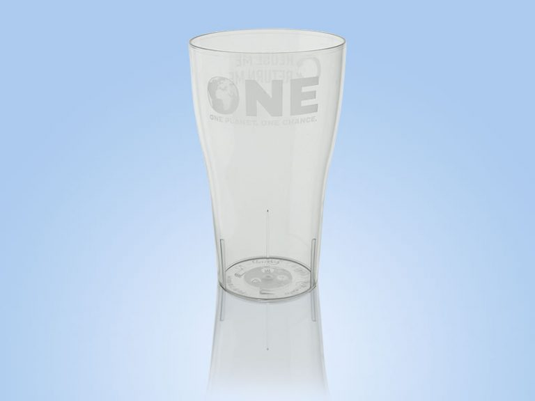 One reusable pint