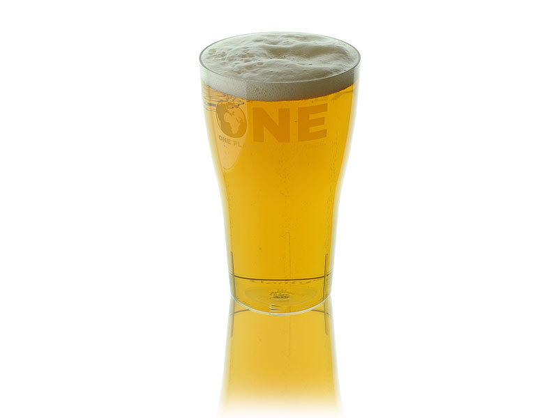 one reusable pint