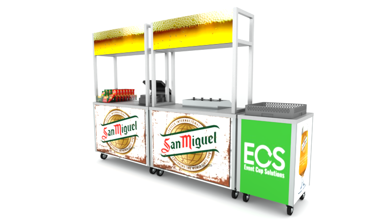 Hire Bottoms Up Mobile Bars 2